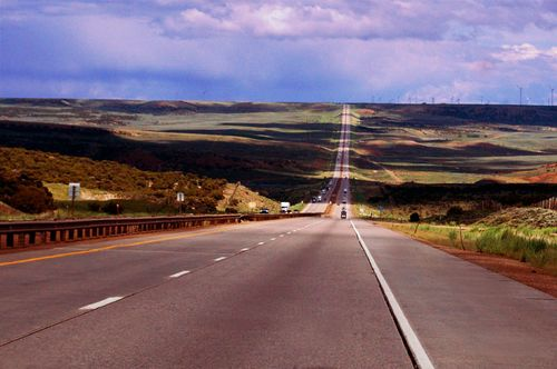 Wyoming_road