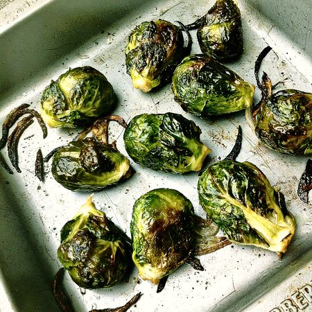 Roasted Brussels Sprouts Pan