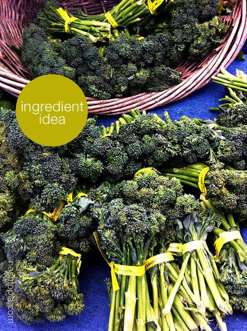 Farmers Market Broccolini