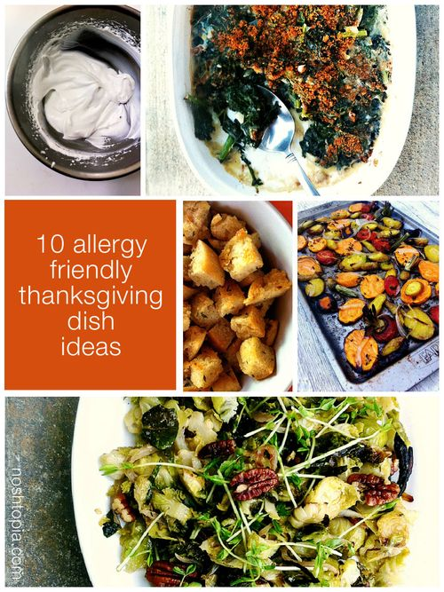 Thanksgiving Allergy Friendly Collage