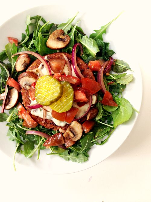 Hilary's Eat Well Adzuki Bean Burger Bowl