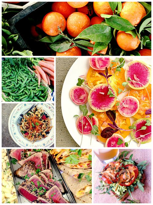 Eating Wellness Collage