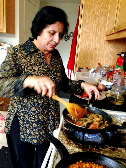 Amrita Mom Cooking