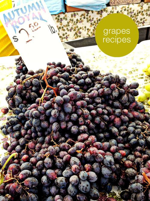 Ingredient Idea Grapes Recipes