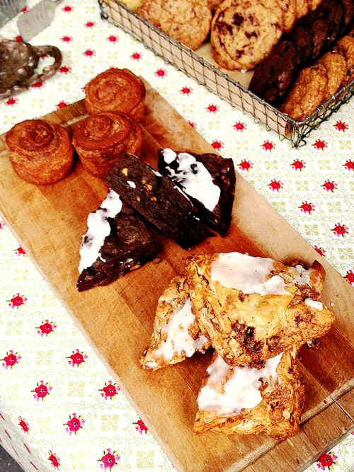 Scones-and-brownies