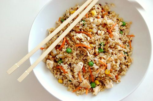 Quinoa Chicken Fried Rice