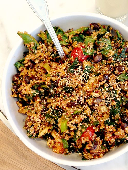 Evolution Fresh Quinoa, Kale Salad Top