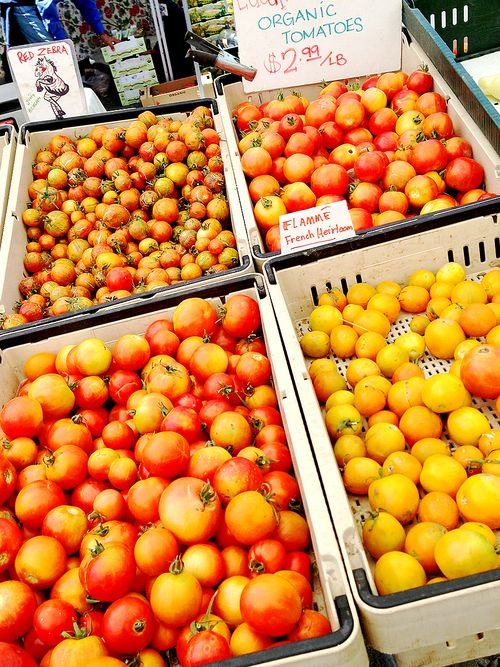 Farmers Market Heirloom Tomato Gems