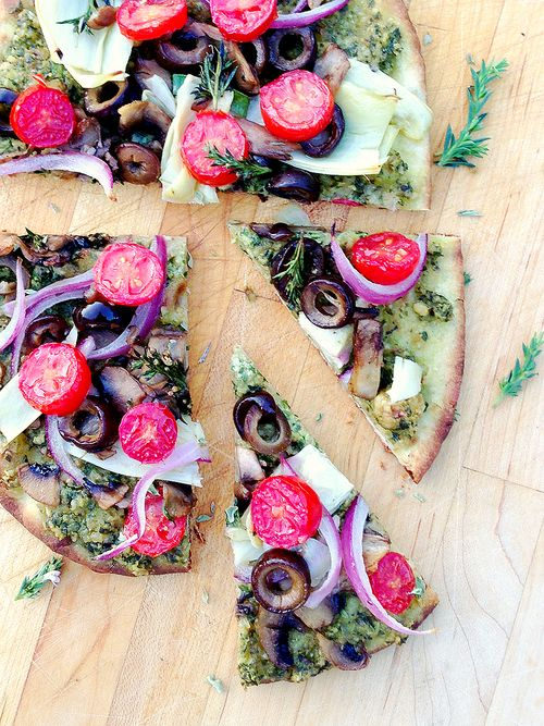 Flatbread Veg Pizza Slices