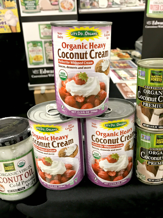 WFFS17 Organic Coconut Cream